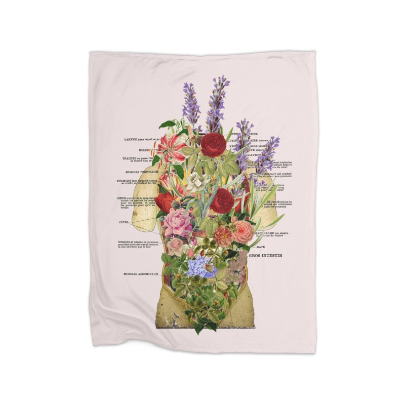 Growth -spring Home Fleece Blanket Blanket by gasponce