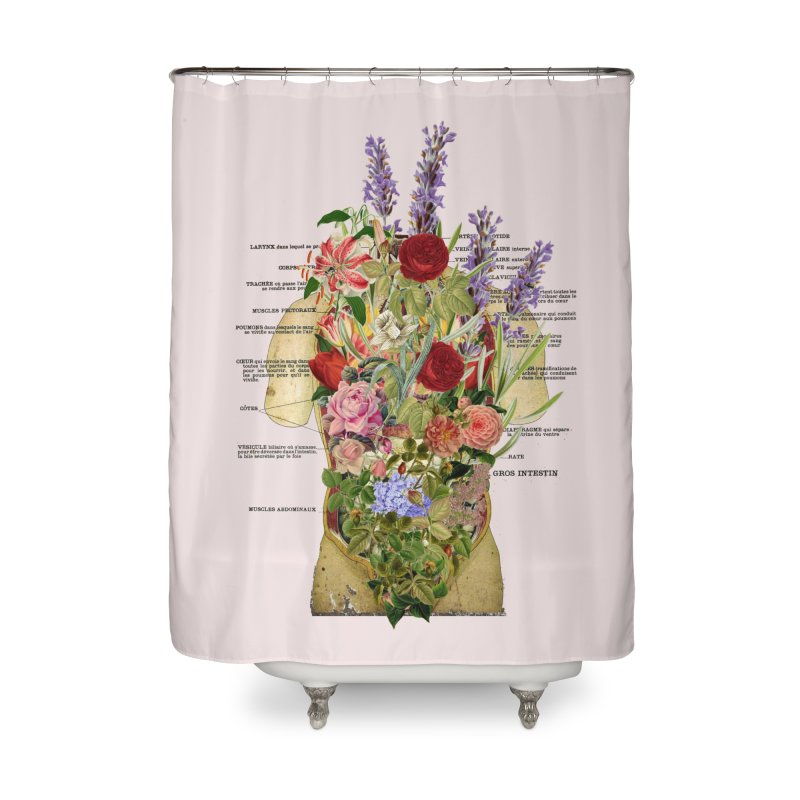Growth -spring Home Shower Curtain by gasponce