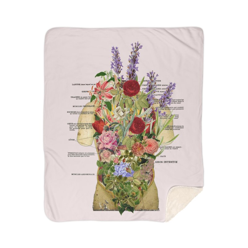 Growth -spring Home Sherpa Blanket Blanket by gasponce