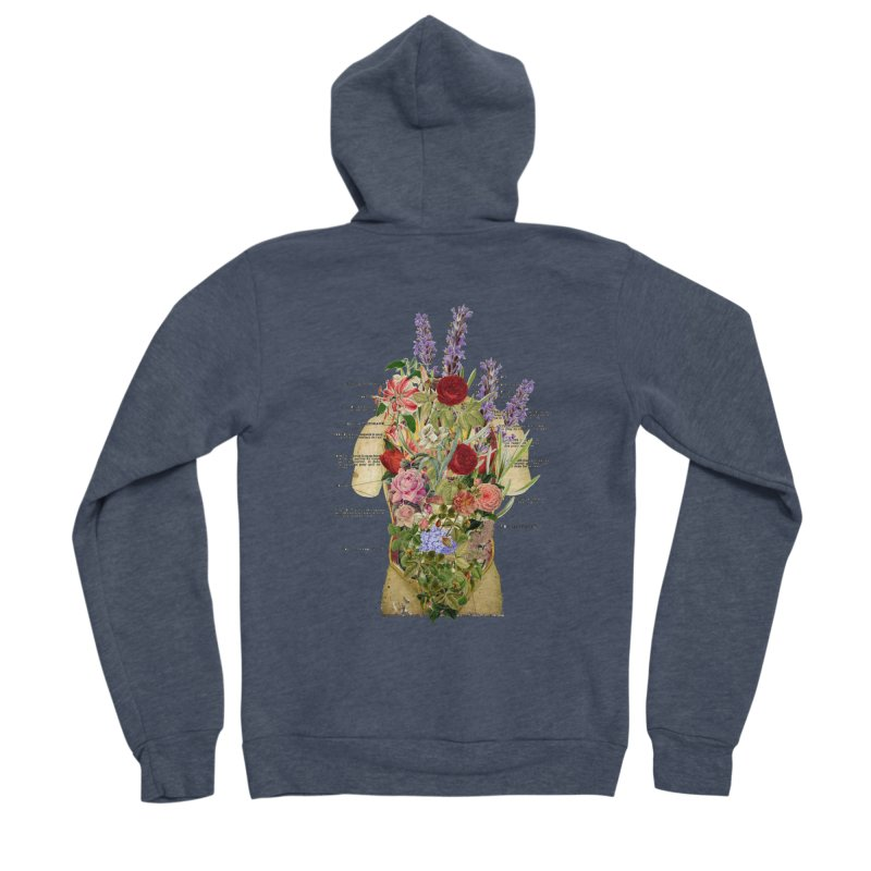 Growth -spring Women's Sponge Fleece Zip-Up Hoody by gasponce