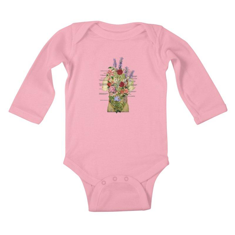Growth -spring Kids Baby Longsleeve Bodysuit by gasponce