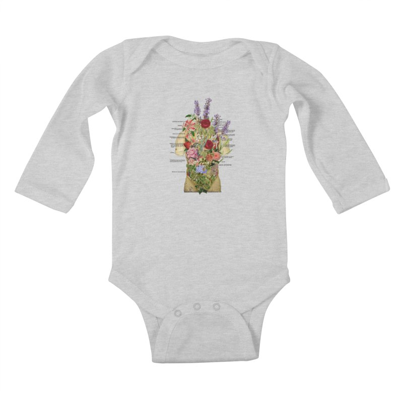 Growth -spring Kids Baby Longsleeve Bodysuit by gasponce