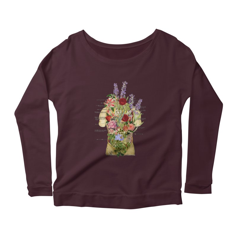 Growth -spring Women's Scoop Neck Longsleeve T-Shirt by gasponce