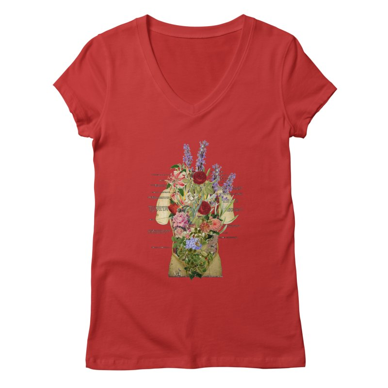 Growth -spring Women's Regular V-Neck by gasponce