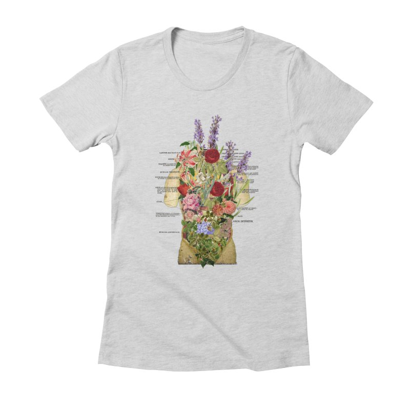 Growth -spring Women's Fitted T-Shirt by gasponce