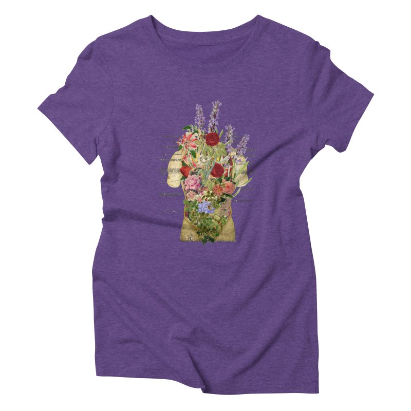 Growth -spring Women's Triblend T-Shirt by gasponce