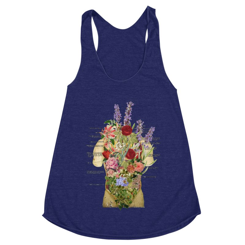 Growth -spring Women's Racerback Triblend Tank by gasponce