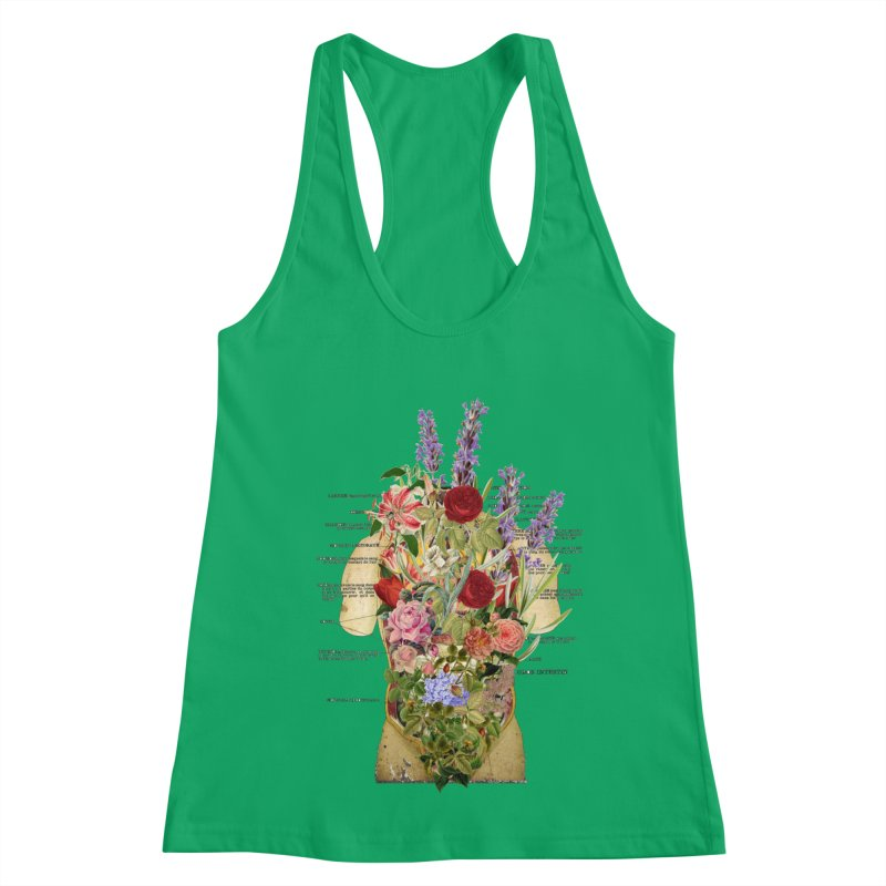 Growth -spring Women's Racerback Tank by gasponce