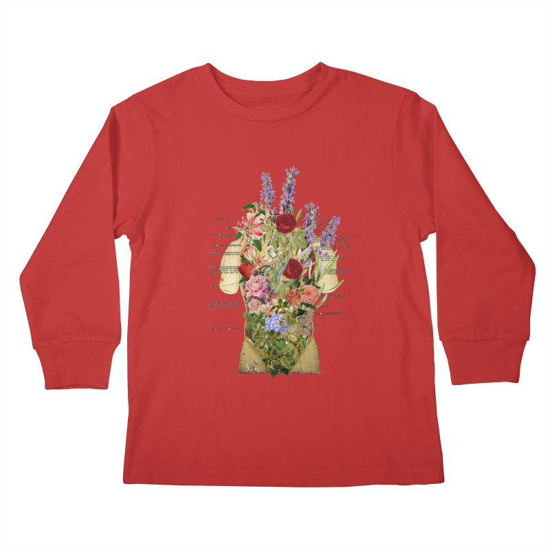 Growth -spring Kids Longsleeve T-Shirt by gasponce