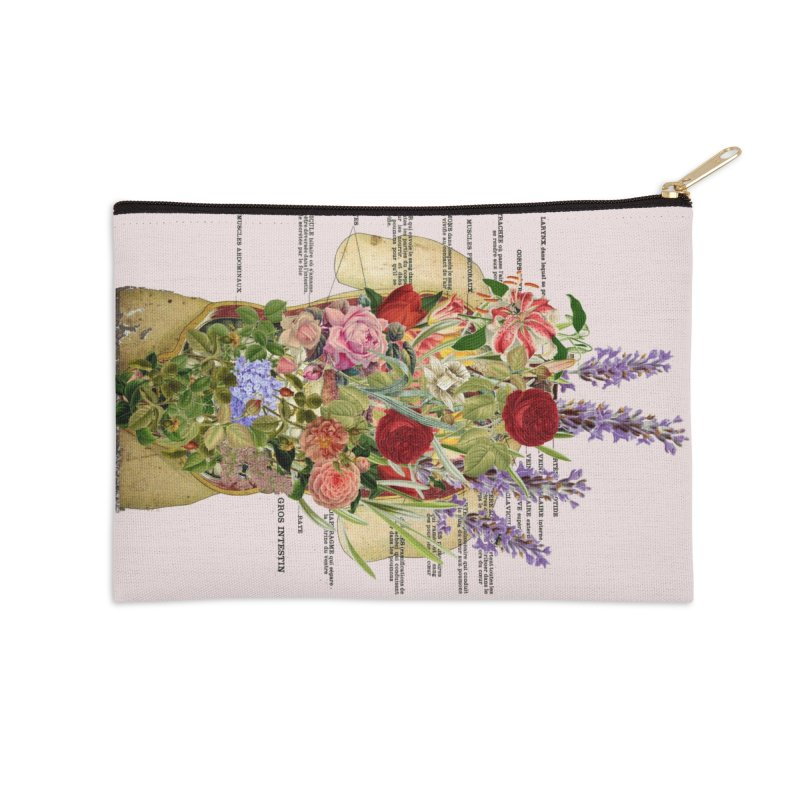 Growth -spring Accessories Zip Pouch by gasponce