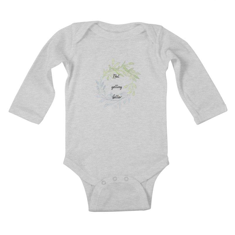 Better! Kids Baby Longsleeve Bodysuit by gasponce