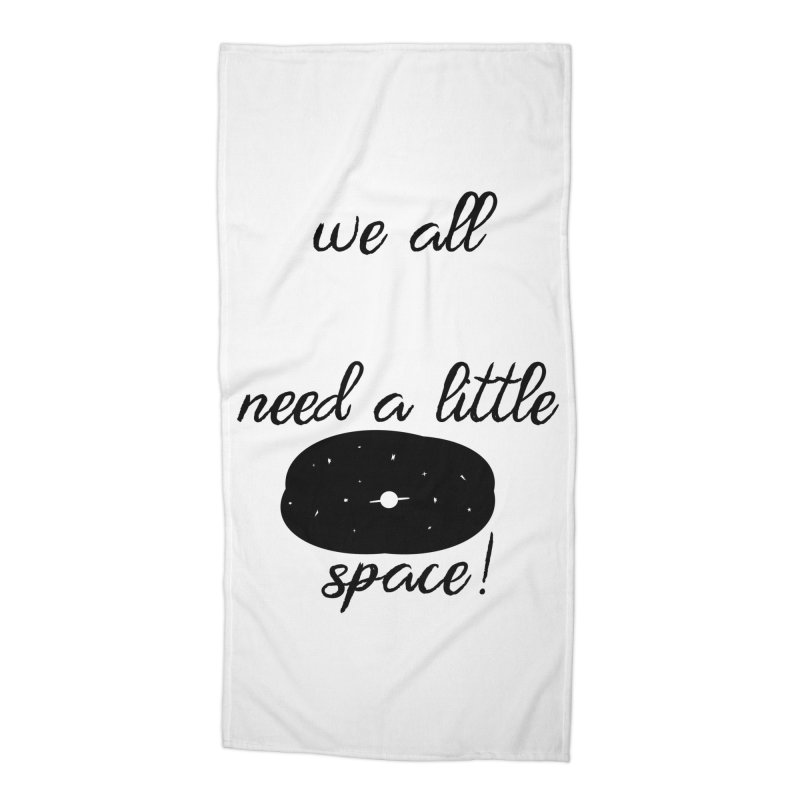 Space! Accessories Beach Towel by gasponce