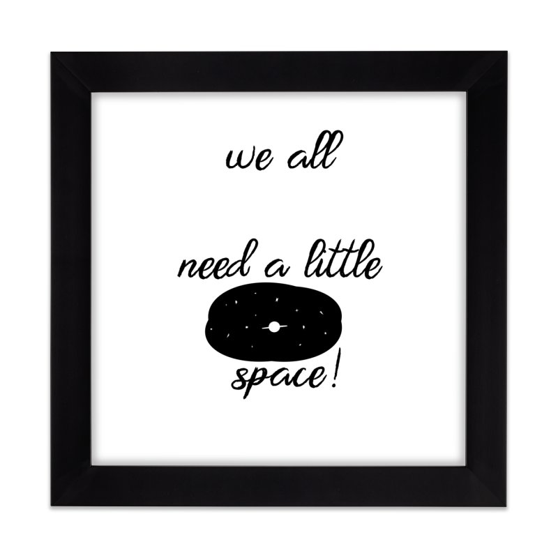 Space! Home Framed Fine Art Print by gasponce