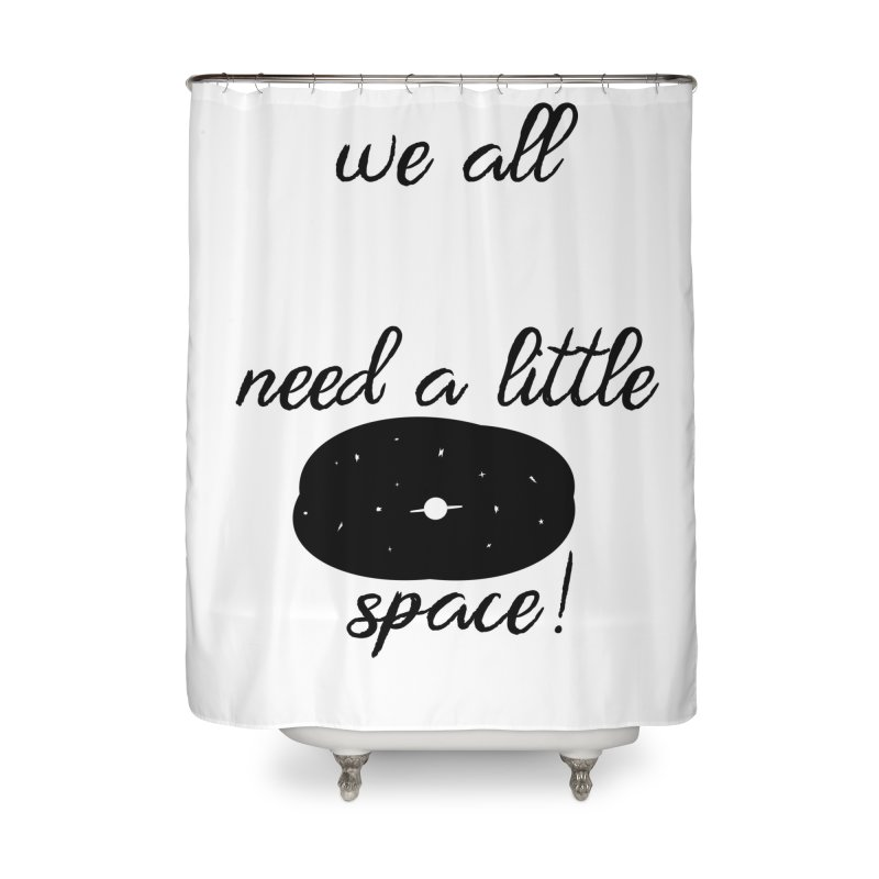 Space! Home Shower Curtain by gasponce