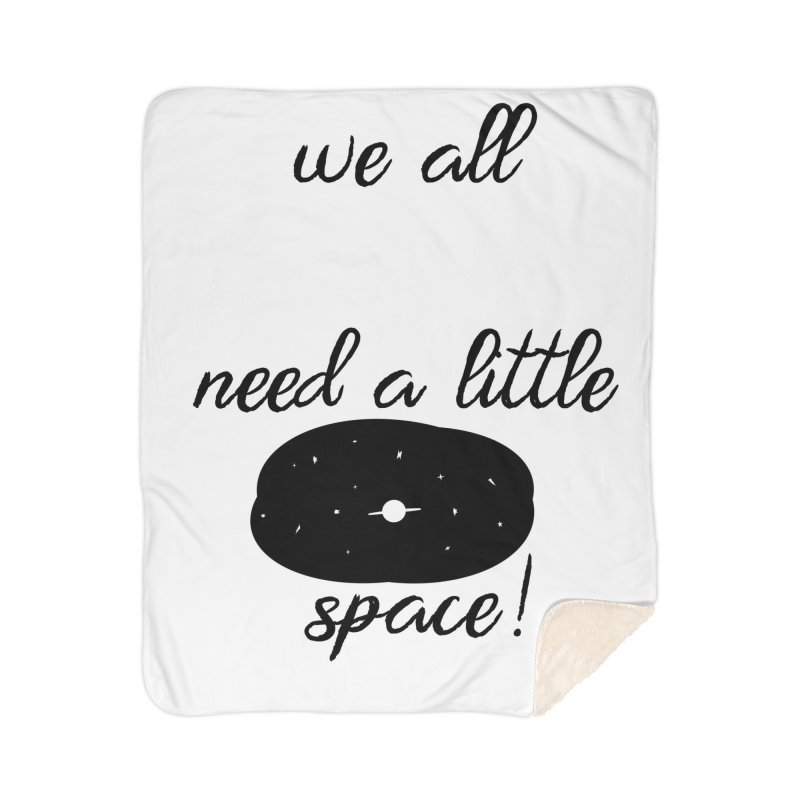 Space! Home Sherpa Blanket Blanket by gasponce