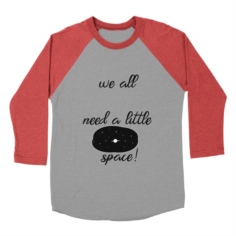 Space! Men's Baseball Triblend Longsleeve T-Shirt by gasponce