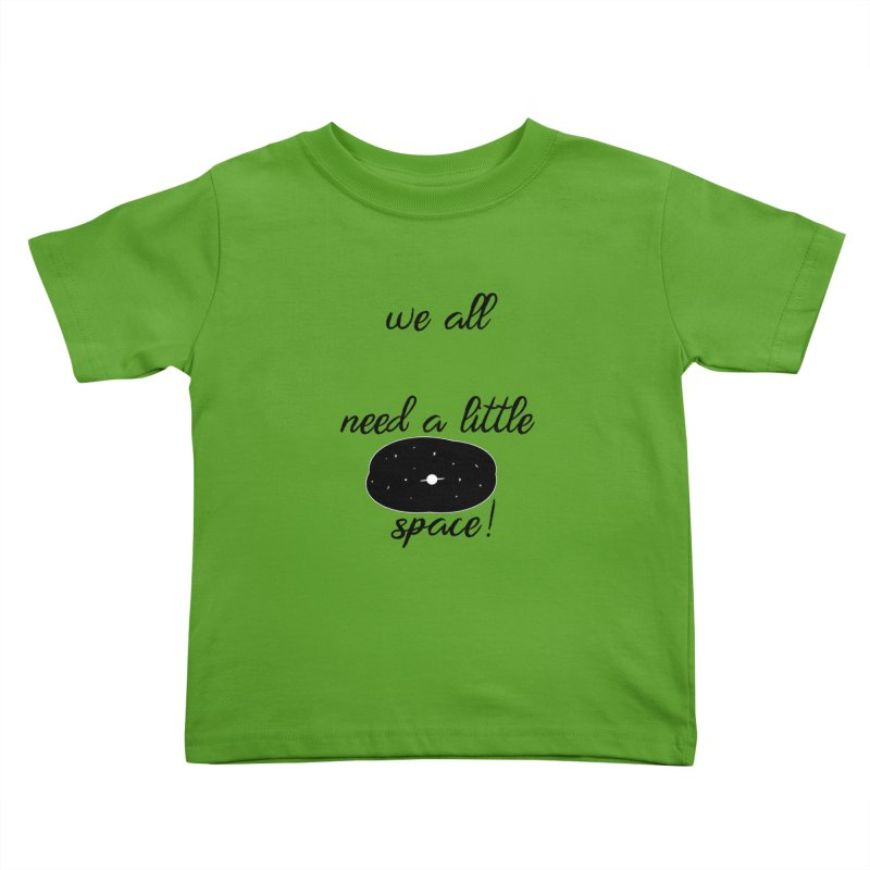 Space! Kids Toddler T-Shirt by gasponce