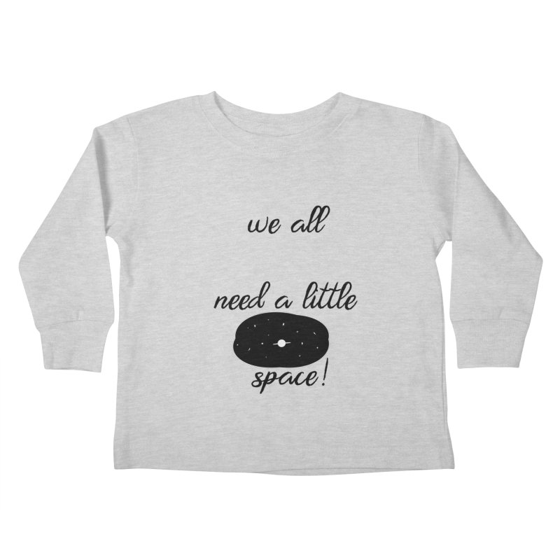 Space! Kids Toddler Longsleeve T-Shirt by gasponce