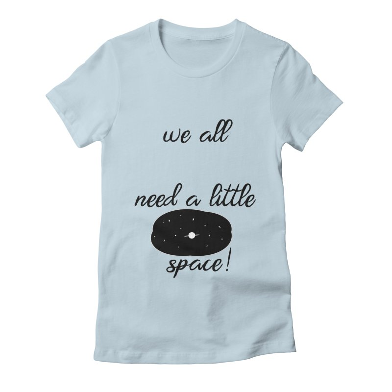 Space! Women's Fitted T-Shirt by gasponce