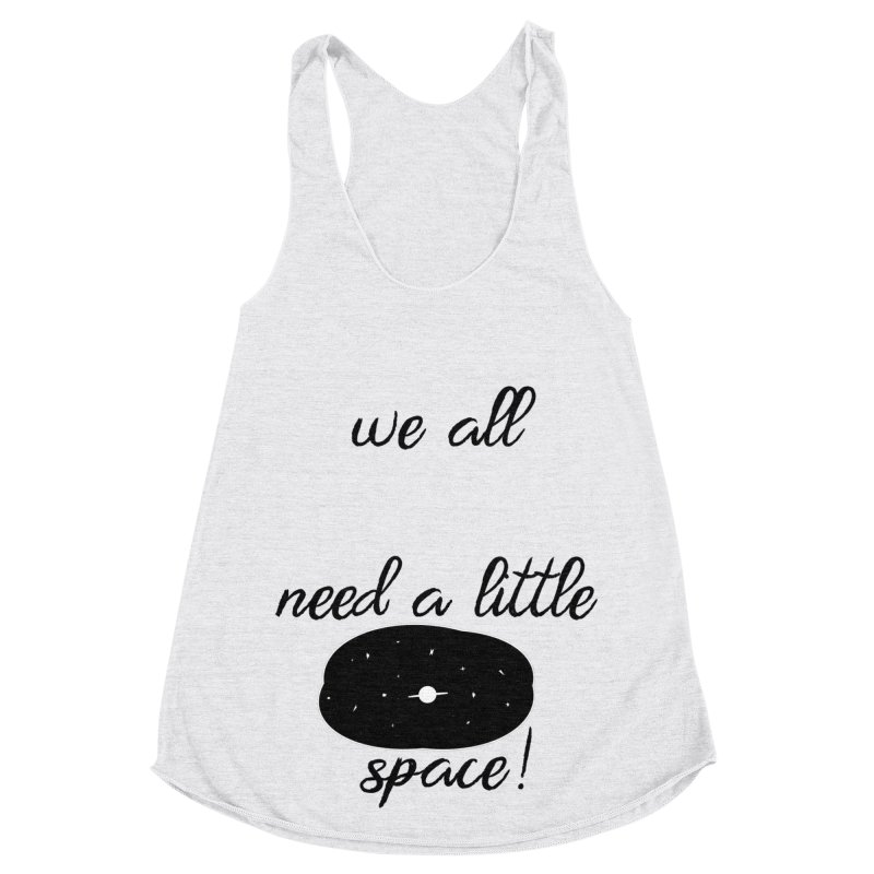 Space! Women's Racerback Triblend Tank by gasponce