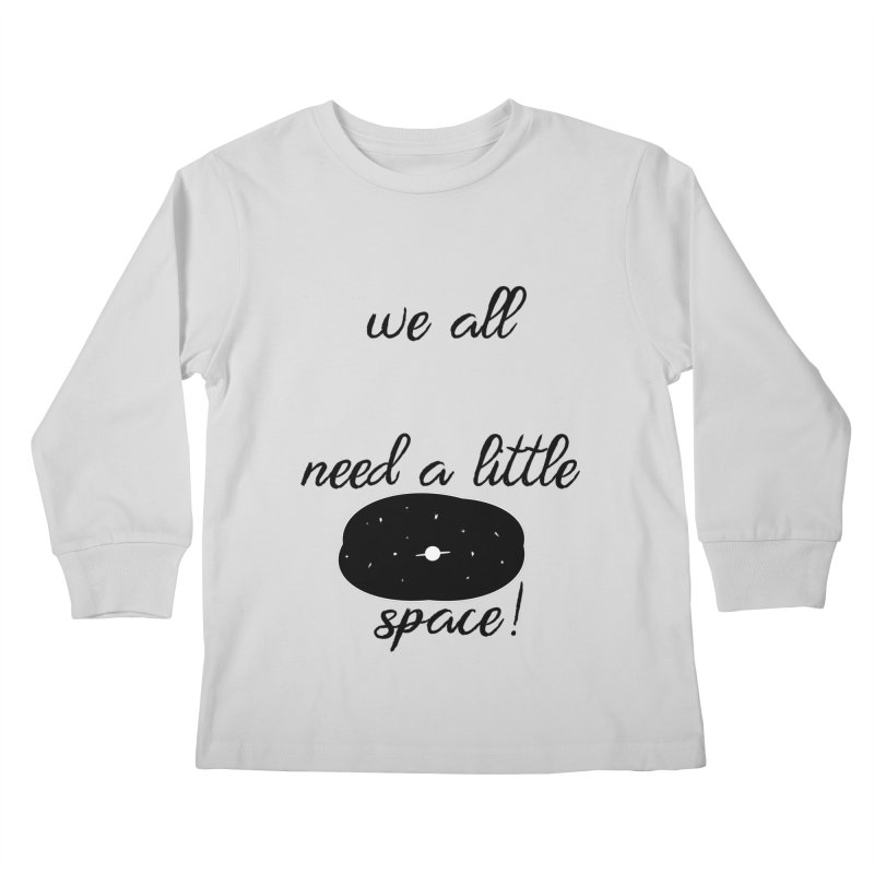 Space! Kids Longsleeve T-Shirt by gasponce