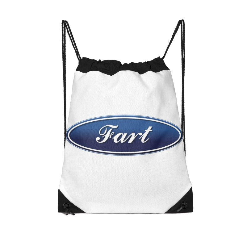 Fart! Accessories Drawstring Bag Bag by gasponce