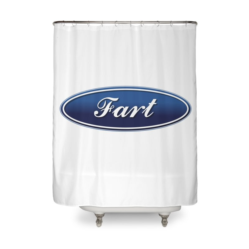 Fart! Home Shower Curtain by gasponce