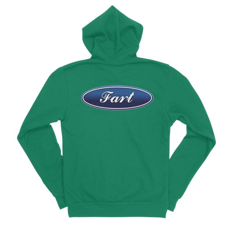 Fart! Women's Sponge Fleece Zip-Up Hoody by gasponce