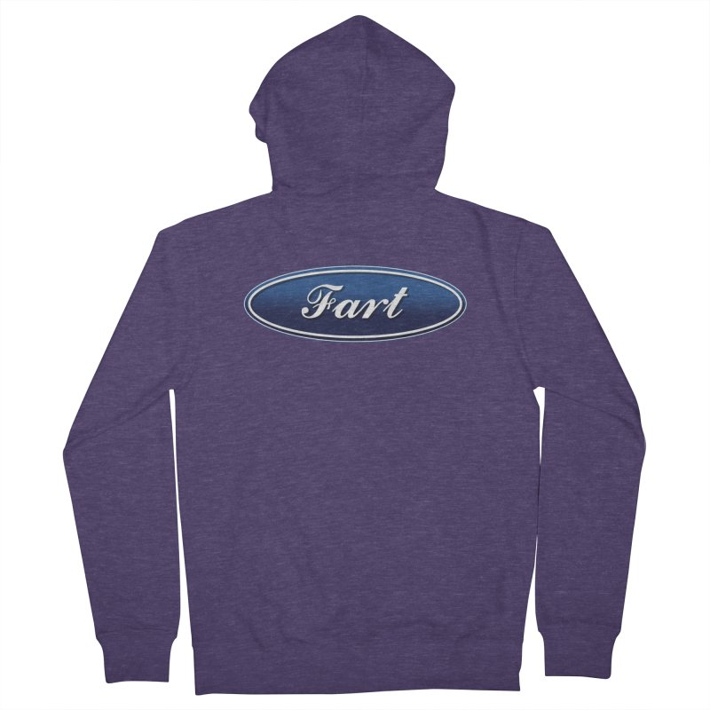 Fart! Men's French Terry Zip-Up Hoody by gasponce