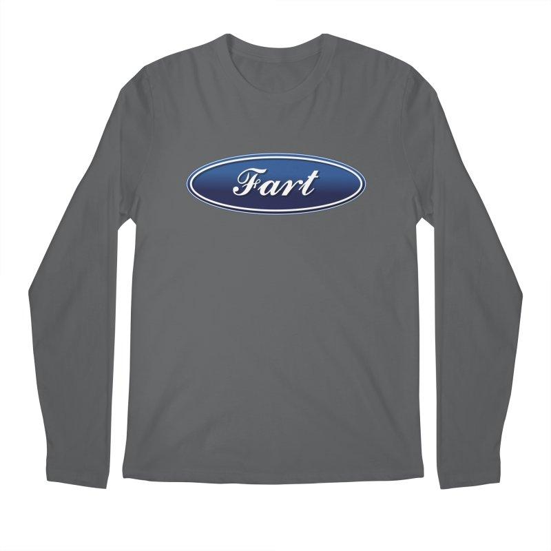 Fart! Men's Longsleeve T-Shirt by gasponce