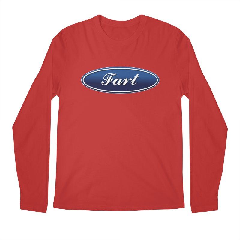 Fart! Men's Regular Longsleeve T-Shirt by gasponce