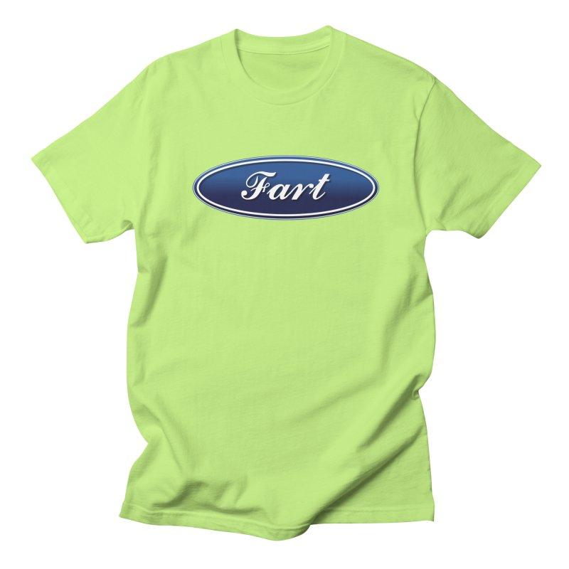 Fart! Men's Regular T-Shirt by gasponce