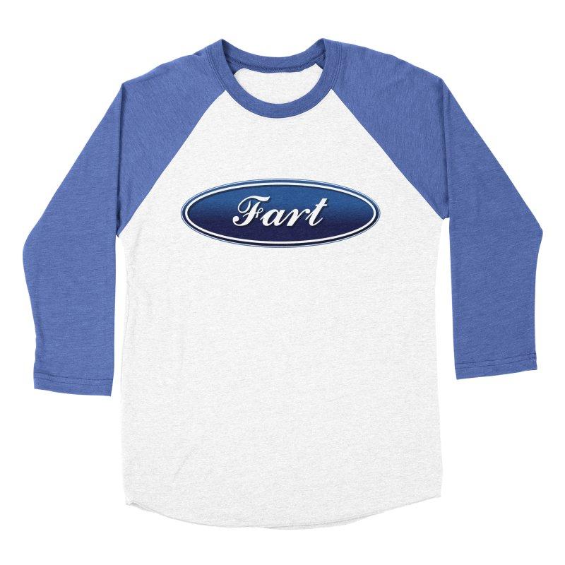 Fart! Women's Baseball Triblend Longsleeve T-Shirt by gasponce