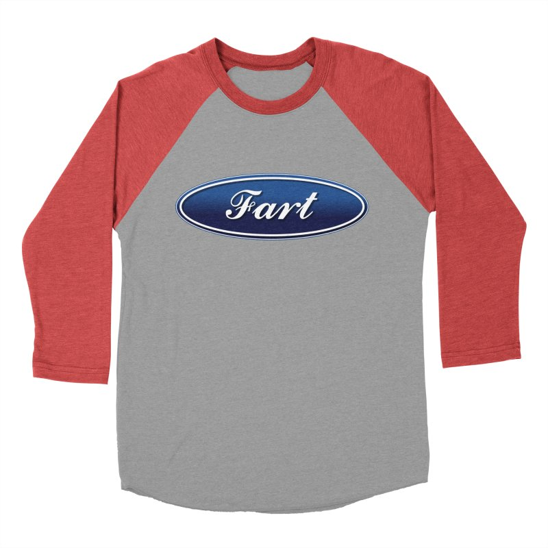 Fart! Women's Baseball Triblend Longsleeve T-Shirt by gasponce