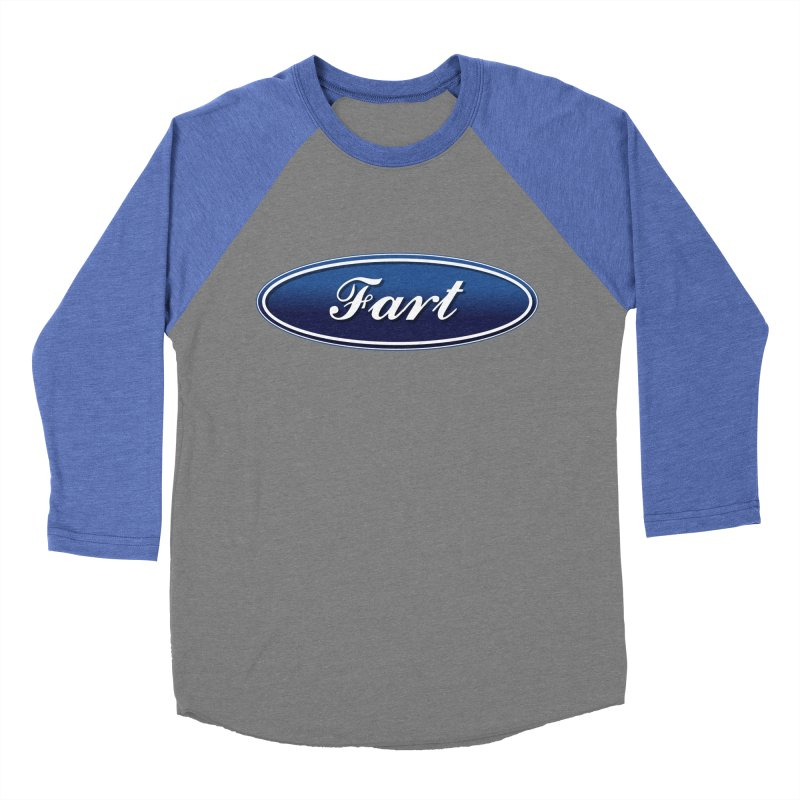 Fart! Men's Baseball Triblend Longsleeve T-Shirt by gasponce