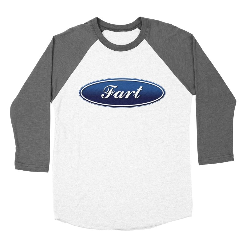 Fart! Men's Baseball Triblend Longsleeve T-Shirt by gasponce