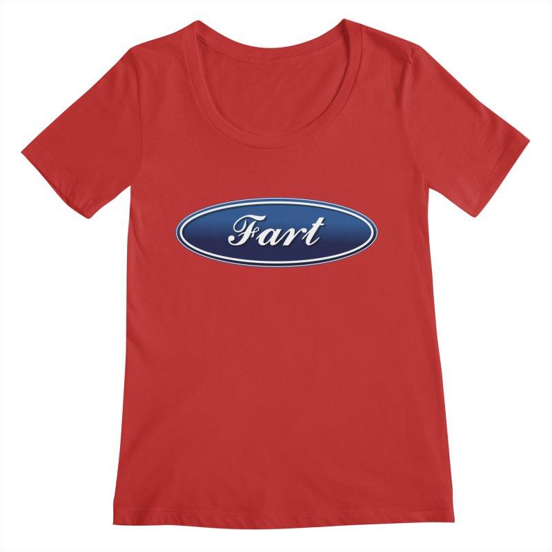 Fart! Women's Regular Scoop Neck by gasponce