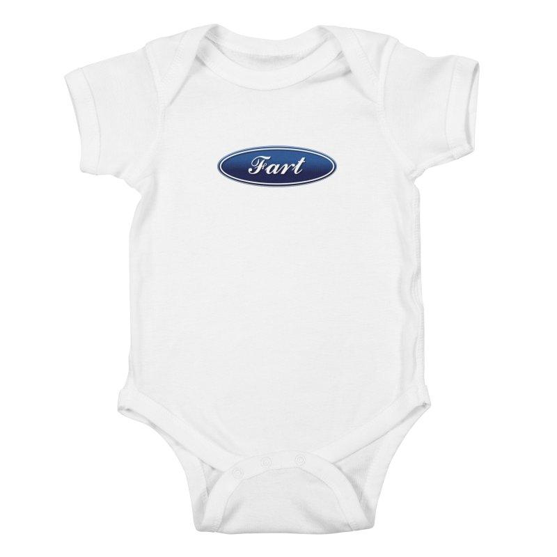 Fart! Kids Baby Bodysuit by gasponce