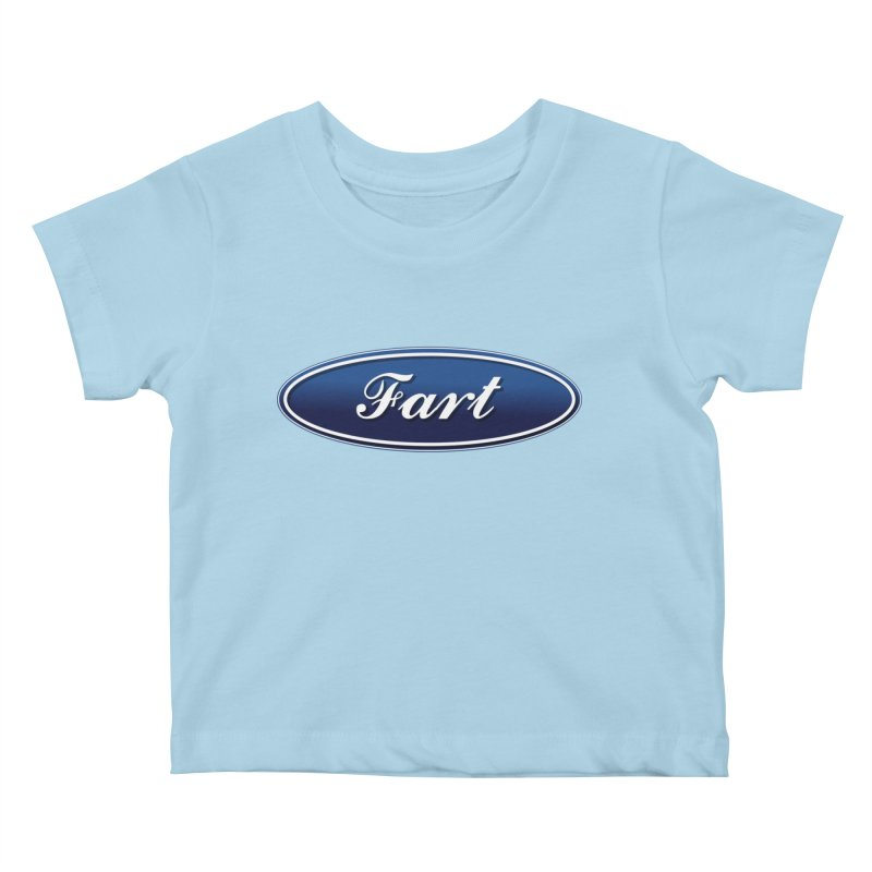 Fart! Kids Baby T-Shirt by gasponce