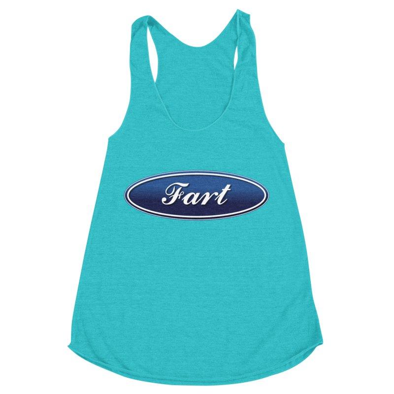 Fart! Women's Racerback Triblend Tank by gasponce
