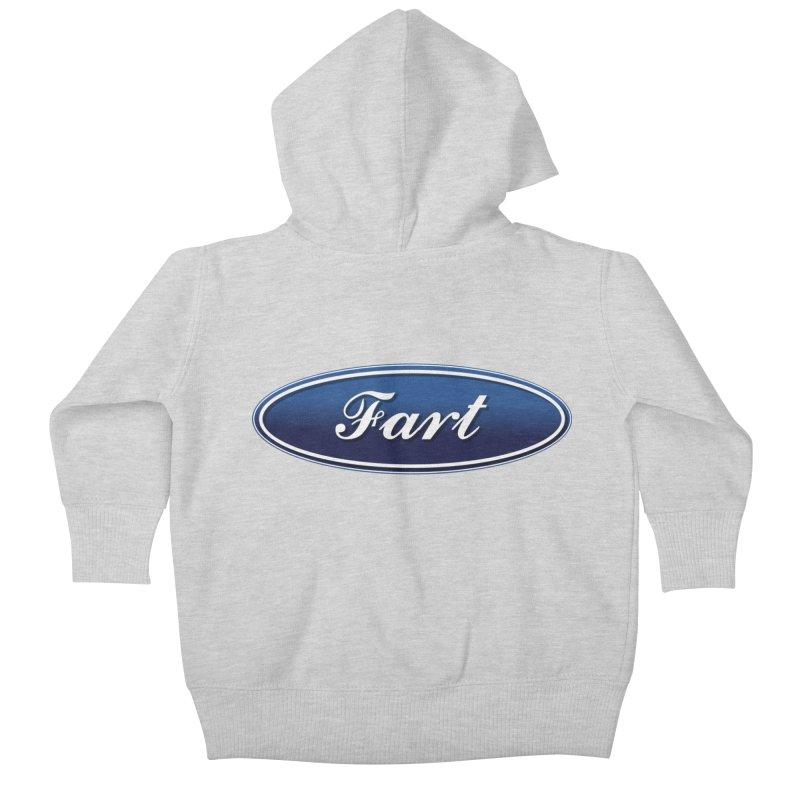 Fart! Kids Baby Zip-Up Hoody by gasponce