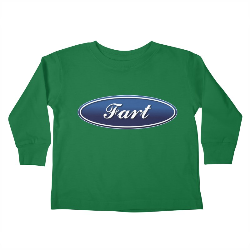 Fart! Kids Toddler Longsleeve T-Shirt by gasponce