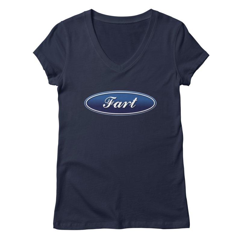 Fart! Women's Regular V-Neck by gasponce