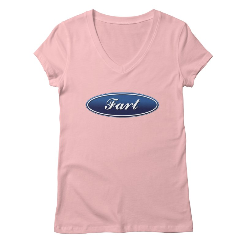 Fart! Women's Regular V-Neck by gasponce