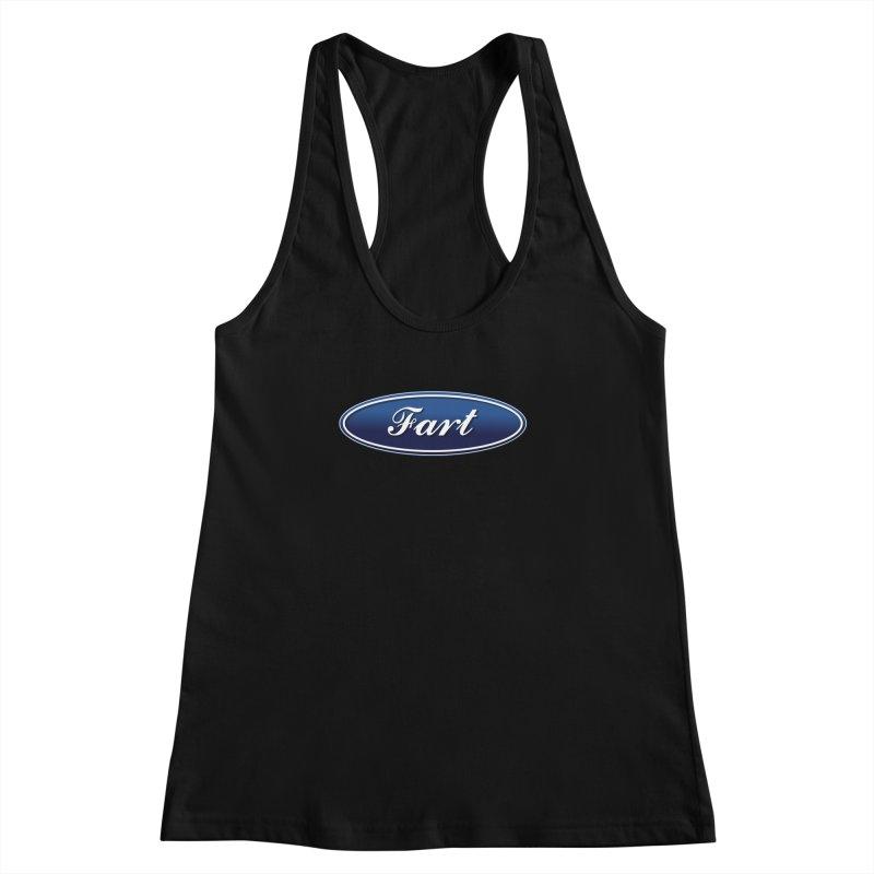 Fart! Women's Racerback Tank by gasponce