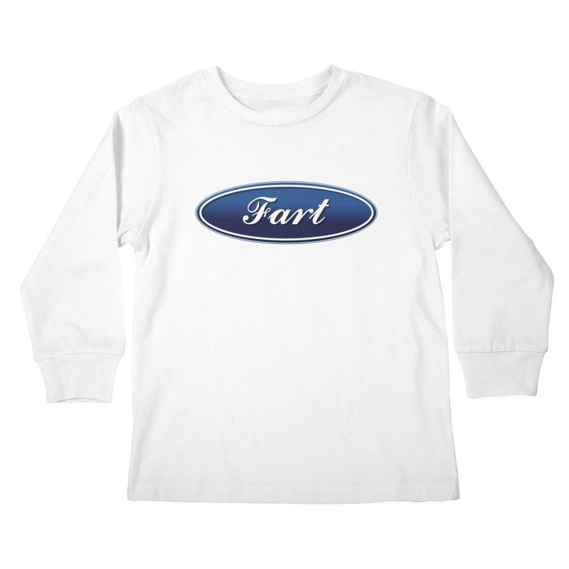 Fart! Kids Longsleeve T-Shirt by gasponce