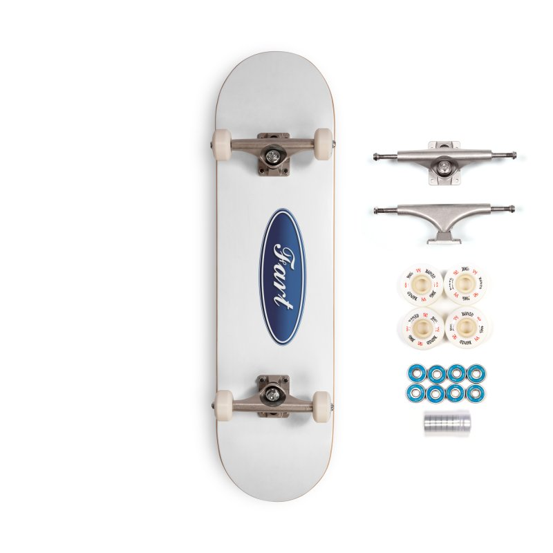 Fart! Accessories Complete - Premium Skateboard by gasponce