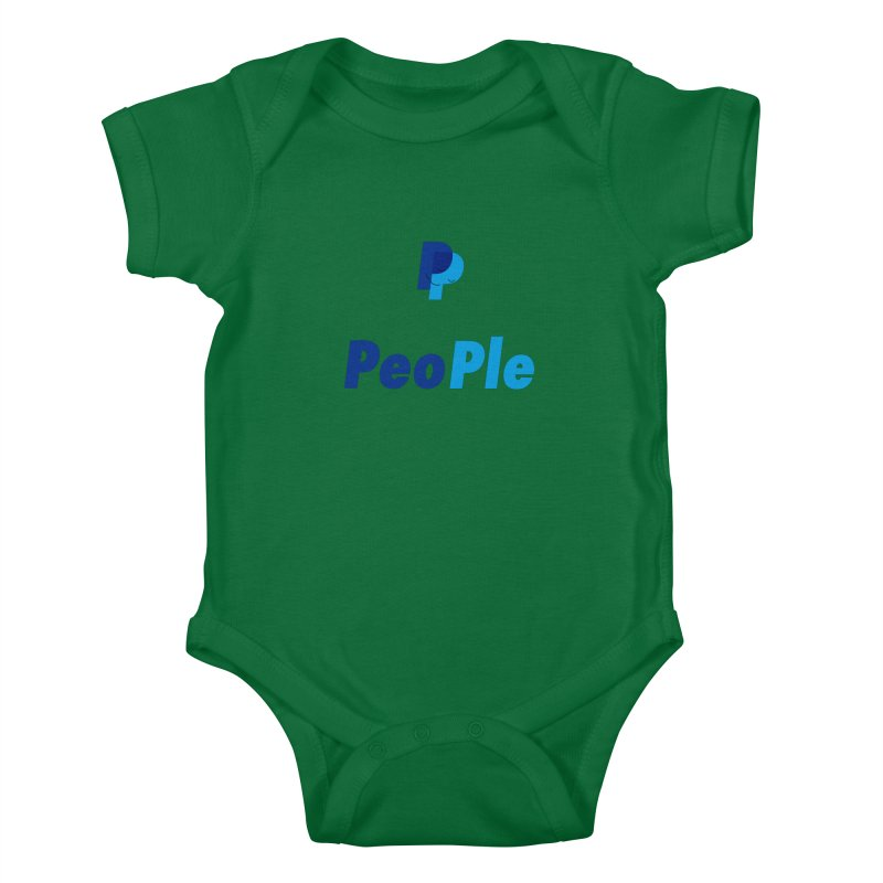 People! Kids Baby Bodysuit by gasponce