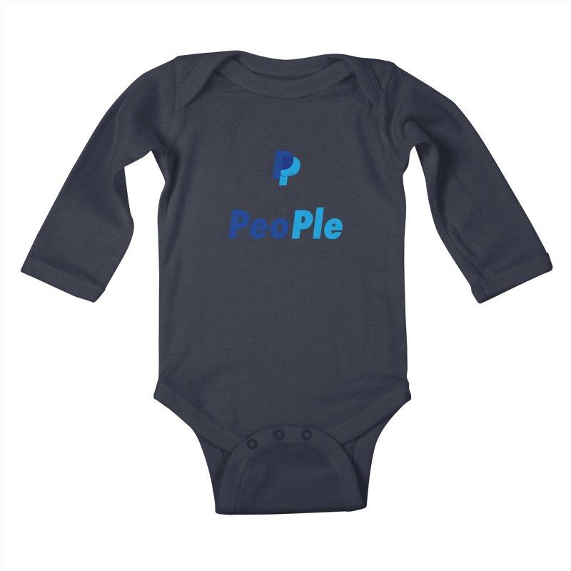People! Kids Baby Longsleeve Bodysuit by gasponce