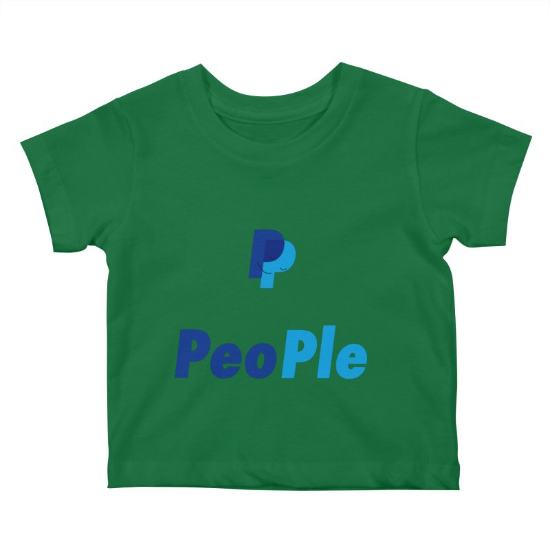 People! Kids Baby T-Shirt by gasponce